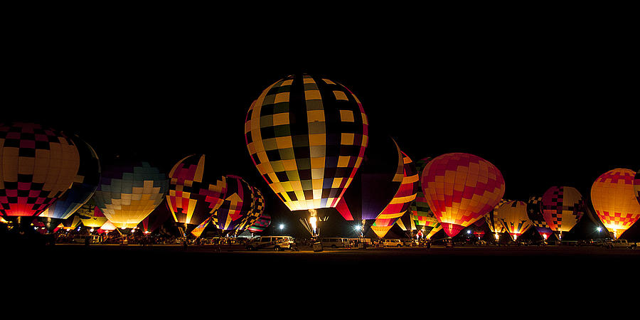 Ballons Photograph - The Glow by Danny Pickens