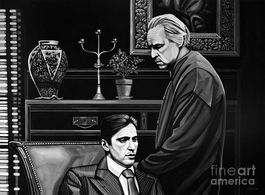 The Godfather Painting - The Godfather  by Paul Meijering