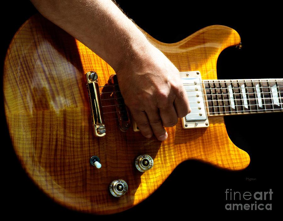 Guitar Photograph - The Gold Standard  by Steven Digman