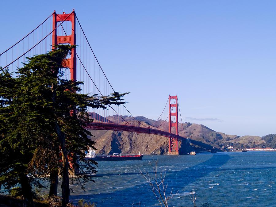 Golden Gate Bridge Photograph - The Golden Gate by Bill Gallagher