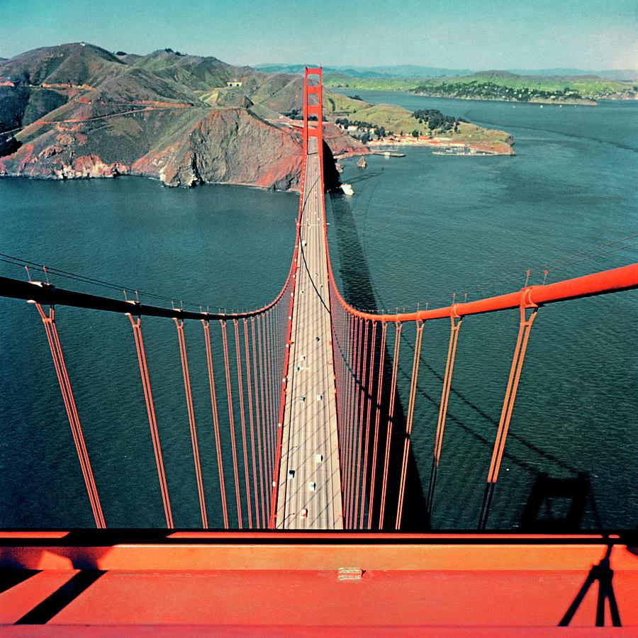 The Golden Gate Bridge Photograph by Serge Balkin