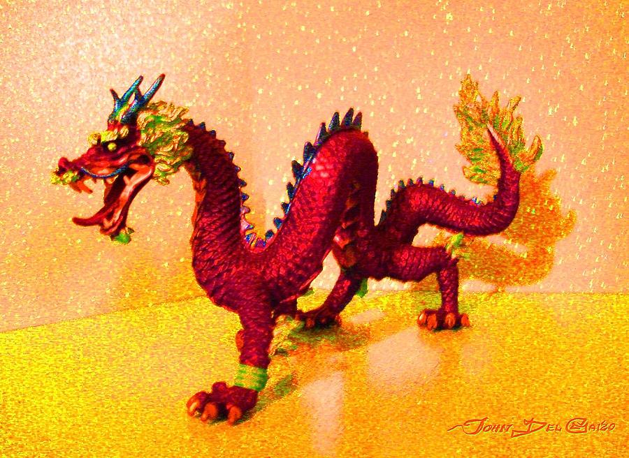 The Golden Room Of The Crimson Dragon Photograph