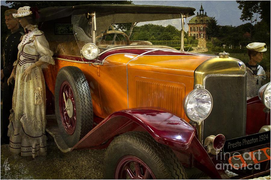Presto Phaeton Photograph - The Golden Twenties by Heiko Koehrer-Wagner