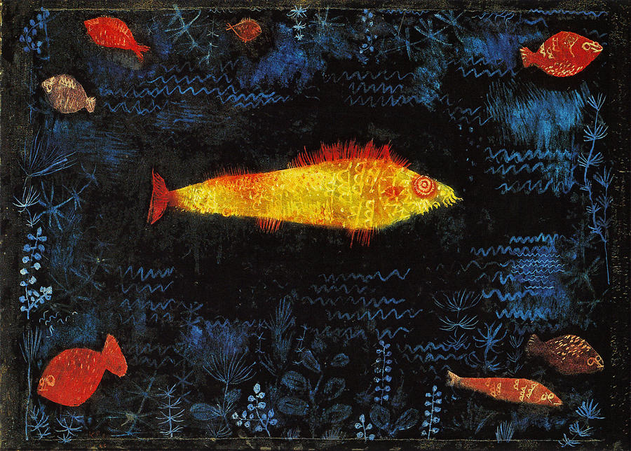 The Goldfish Painting