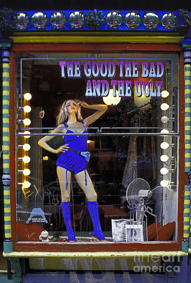 Window Photograph - The Good Bad And Ugly by Bruce Bain