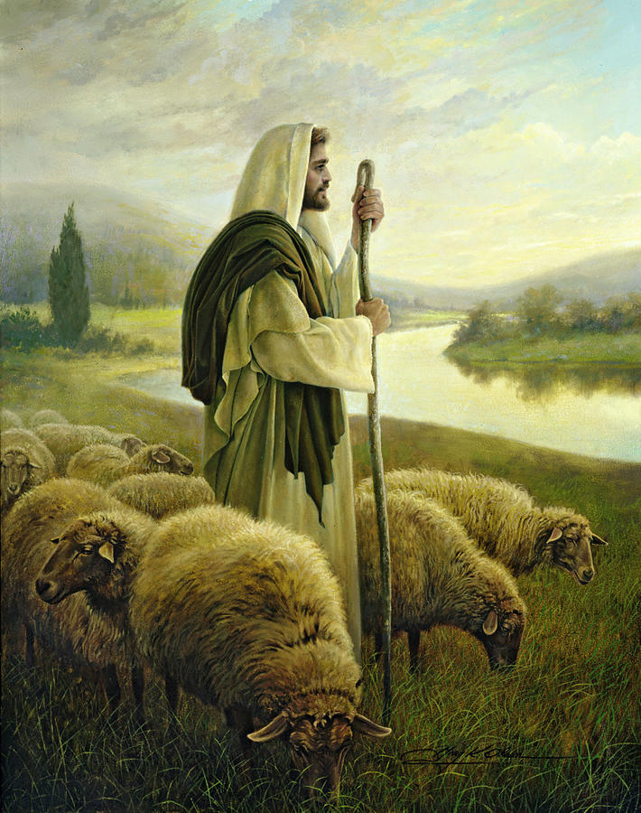 The Good Shepherd by Greg Olsen