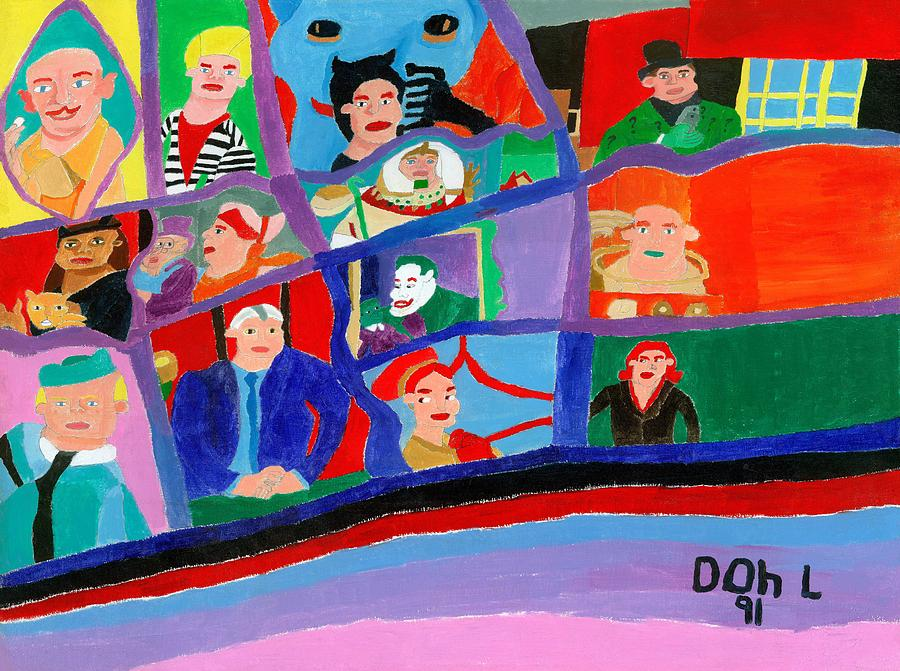 The Gotham Bunch Painting by Don Larison