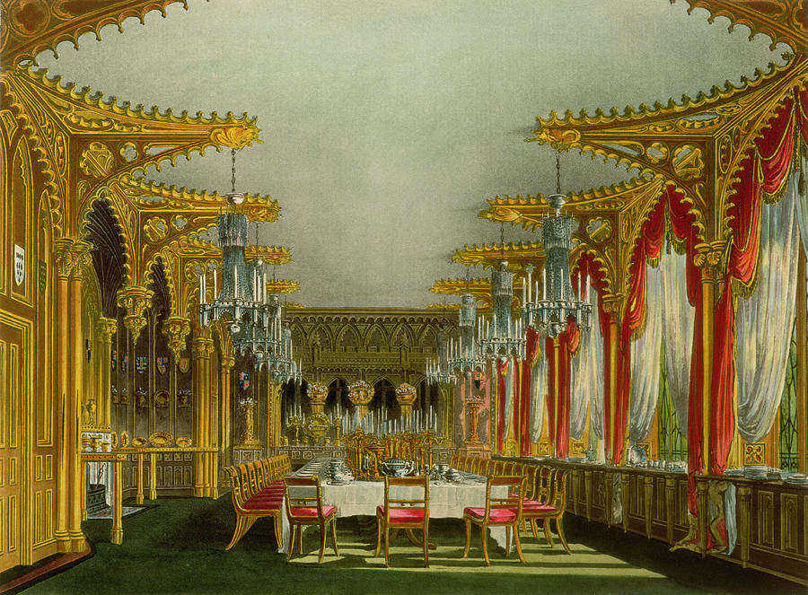 The Gothic Dining Room At Carlton House