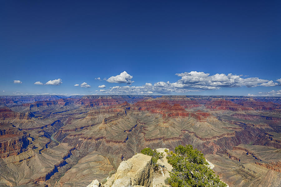 Grand Canyon Photograph - The Grand Canyon--another Look by Angela A Stanton