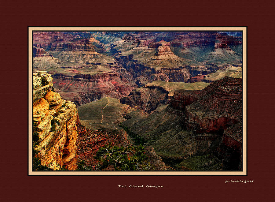 Rocks Photograph - The Grand Canyon by Tom Prendergast