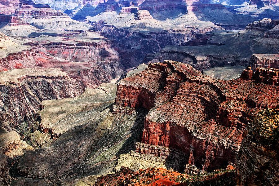 Rocks Photograph - The Grand Canyon V by Tom Prendergast