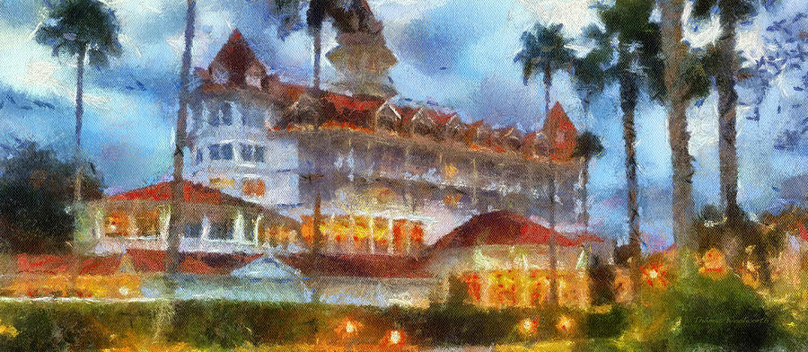 Grand Floridian Photograph - The Grand Floridian Resort Wdw 01 Photo Art by Thomas Woolworth