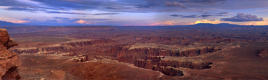 #canyonlands Photograph - The Grand Mesa by Tony Santo
