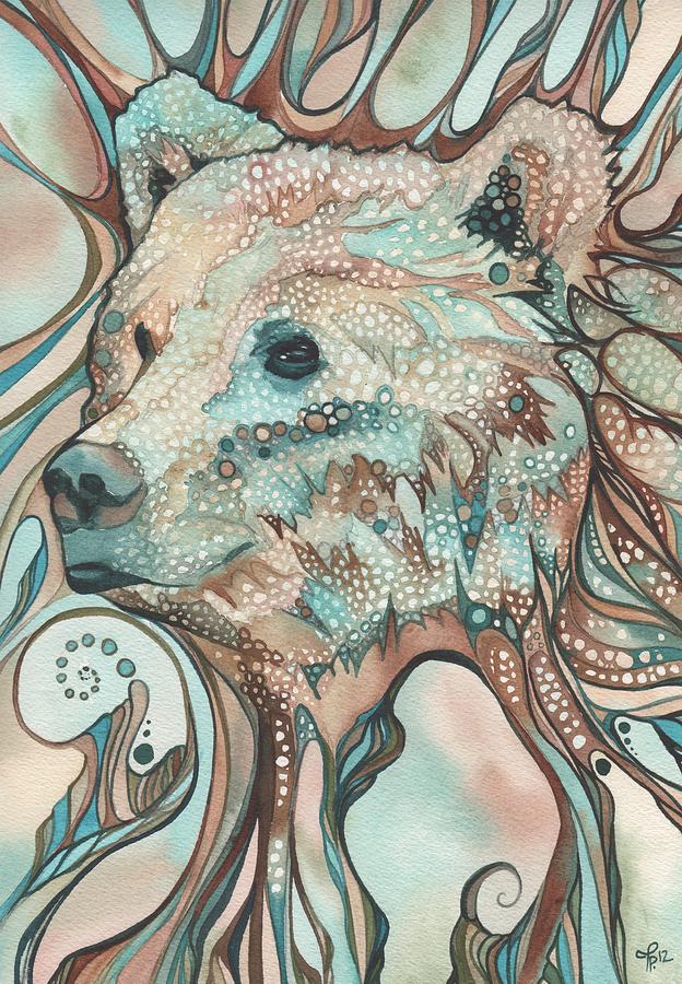 Bear Painting - The Great Bear Spirit by Tamara Phillips