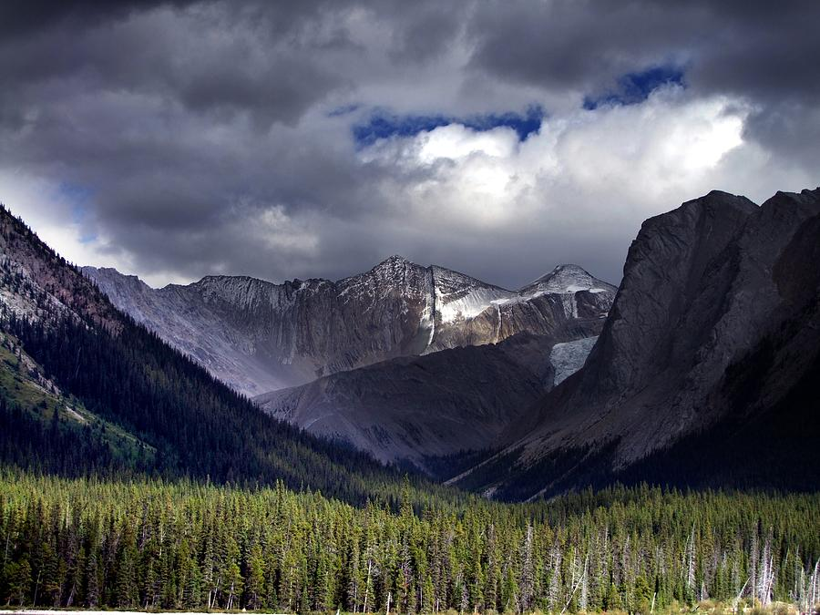 Mountains Photograph - The Great Beyond by George Cousins
