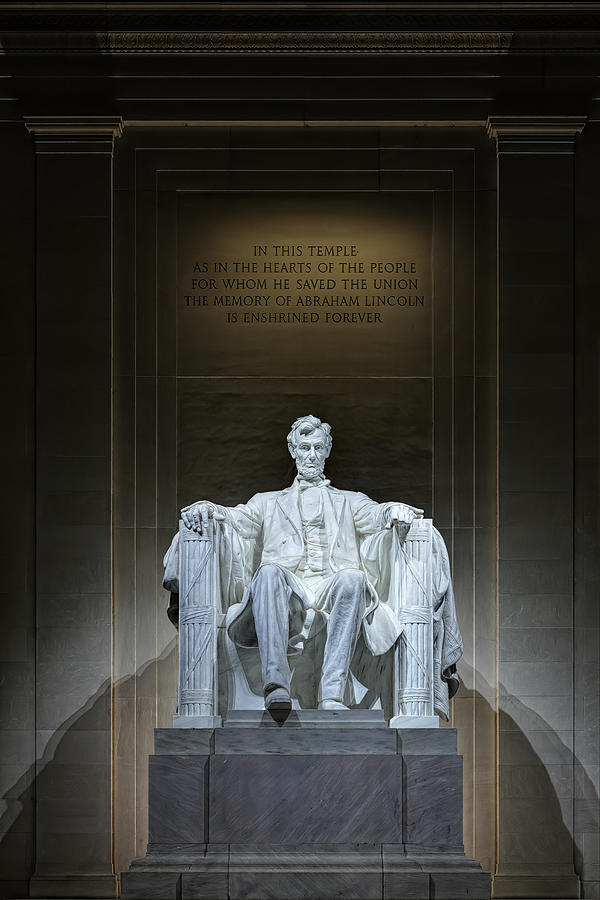 Metro Photograph - The Great Emancipator by Metro DC Photography