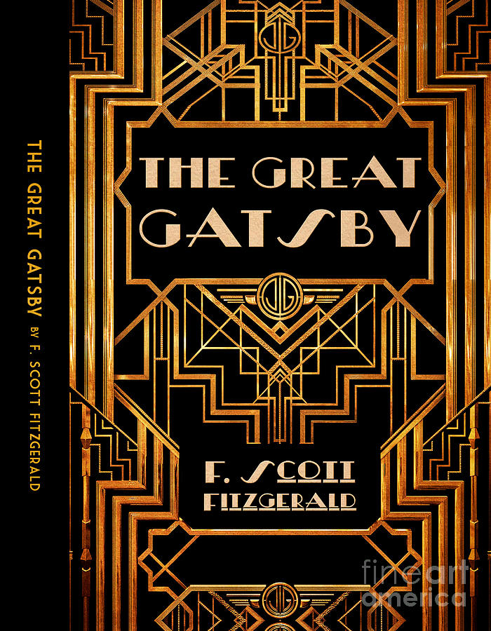 The Great Gatsby Book Cover Movie Poster Art 6 Digital Art