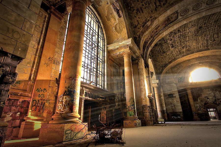 The Great Hall Photograph by Mike Lanzetta