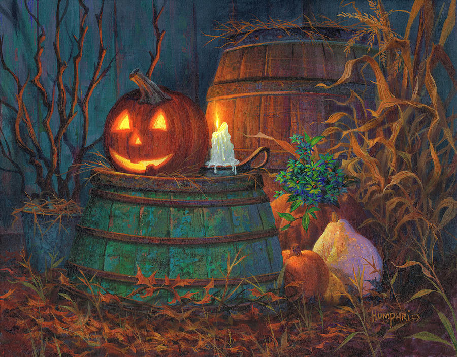Michael Humphries Painting - The Great Pumpkin by Michael Humphries