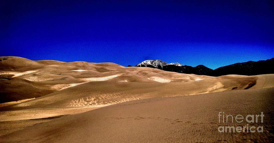 Sand Dunes Photograph - The Great Sand Dunes1 by Claudette Bujold-Poirier