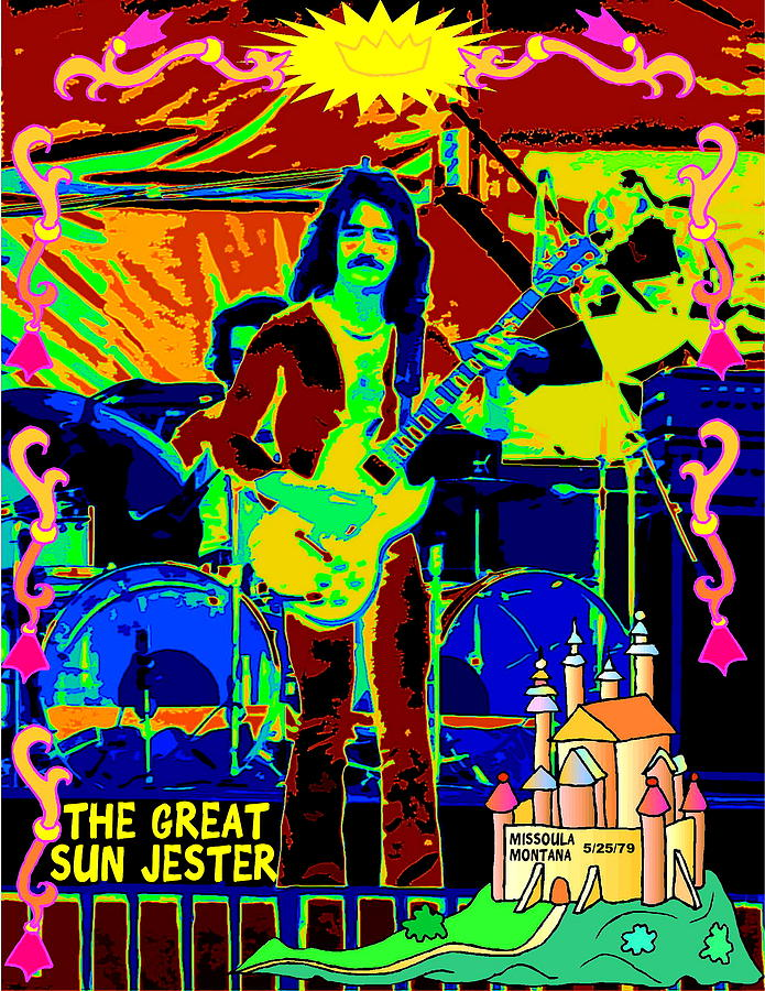 Blue Oyster Cult Photograph - The Great Sun Jester by Ben Upham