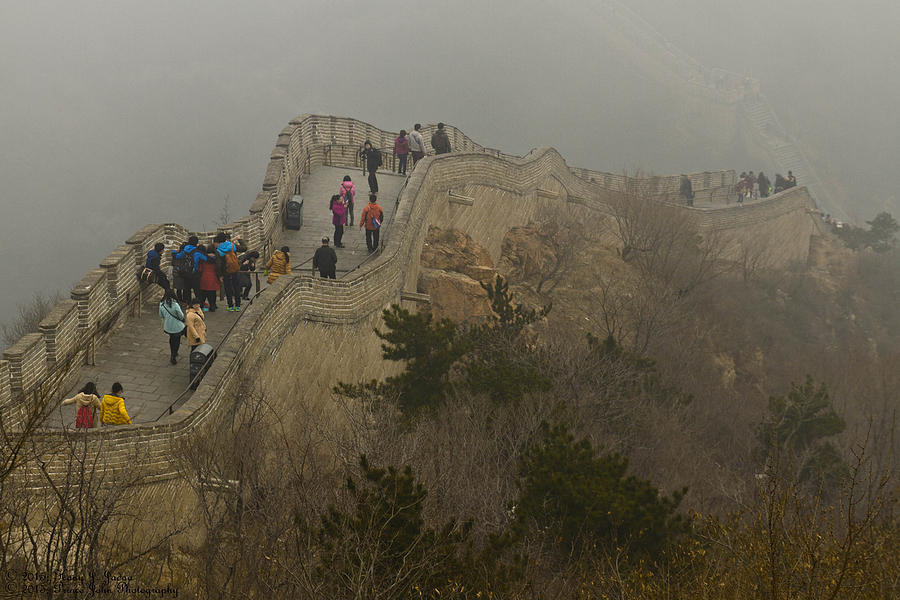 Badaling Great Wall in Snow - Beijing Tour Gallery ... |Great Wall Badaling Weather