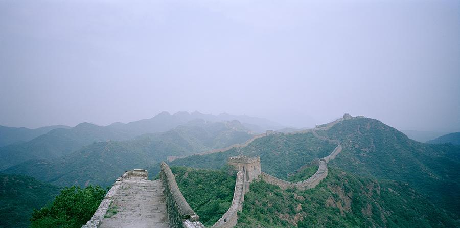 Great Wall Of China Photograph - The Great Wall Of China by Shaun Higson