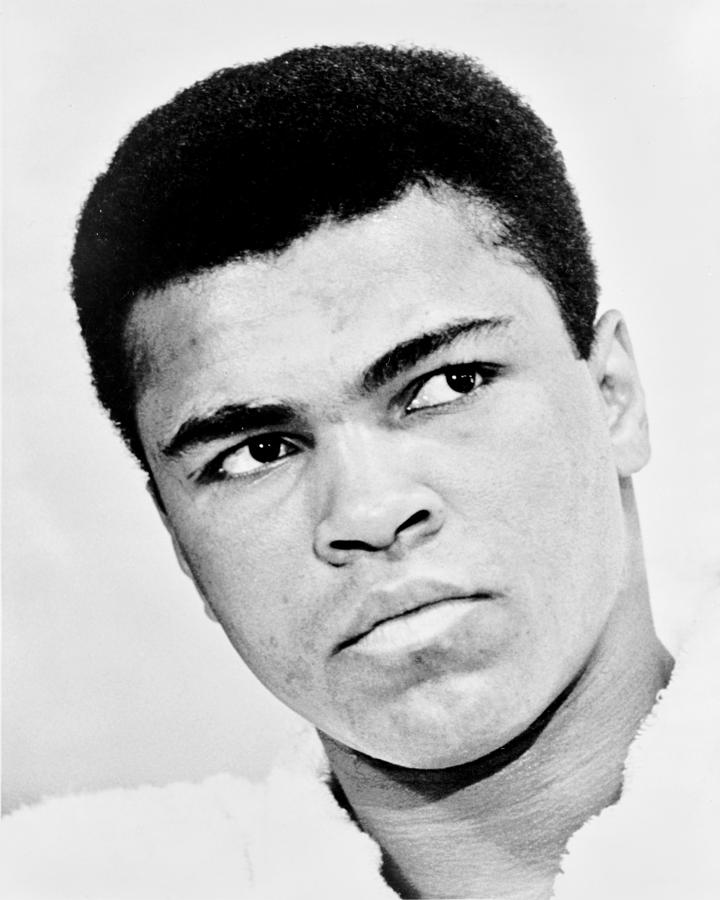 Ali Photograph - The Greatest by Benjamin Yeager