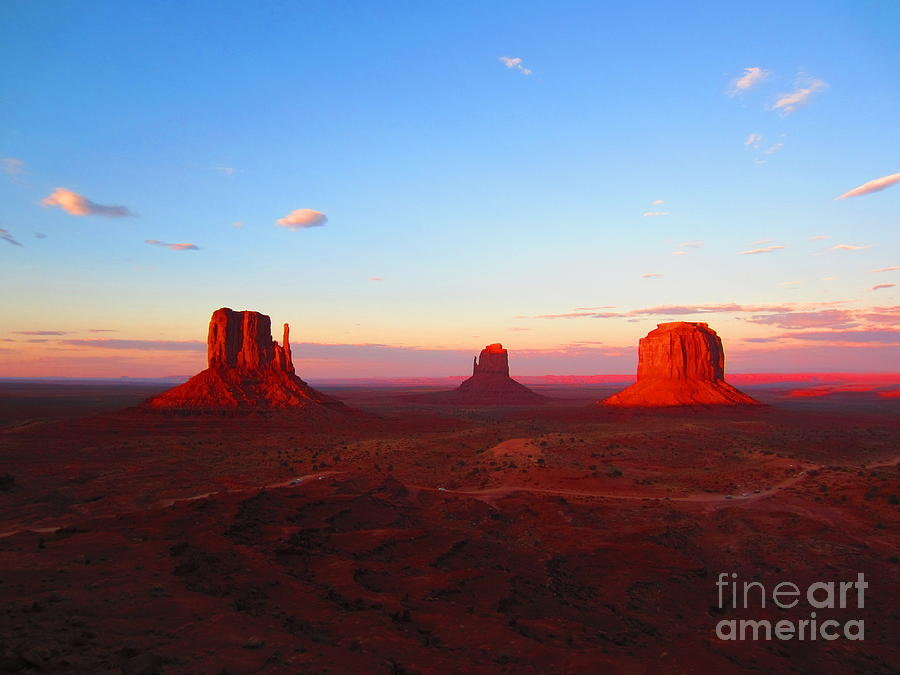 Monument Photograph - The Greatest View by C Lythgo