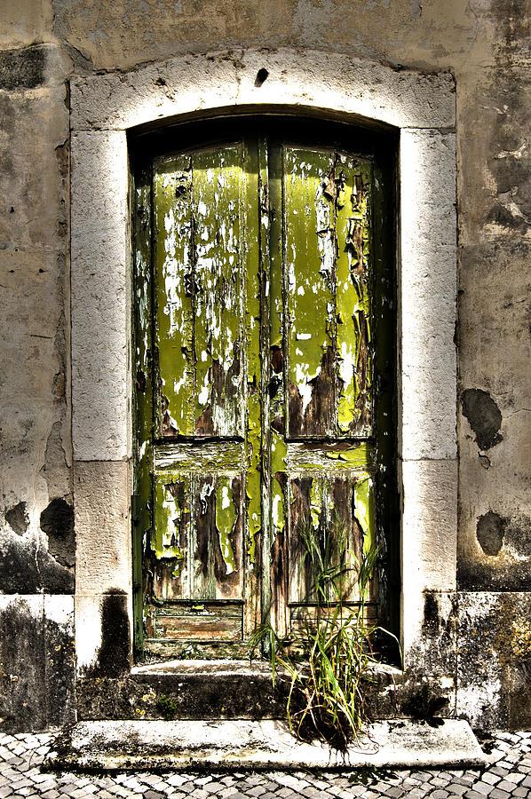 The Green Door Photograph - The Green Door by Marco Oliveira