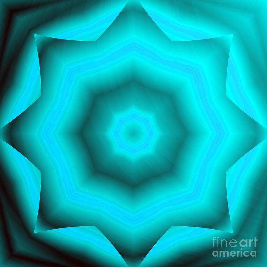 The Green Star Digital Art