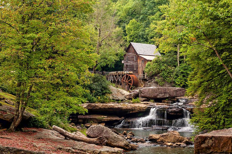 West Virginia Photograph - The Grist Mill by Steve Harrington