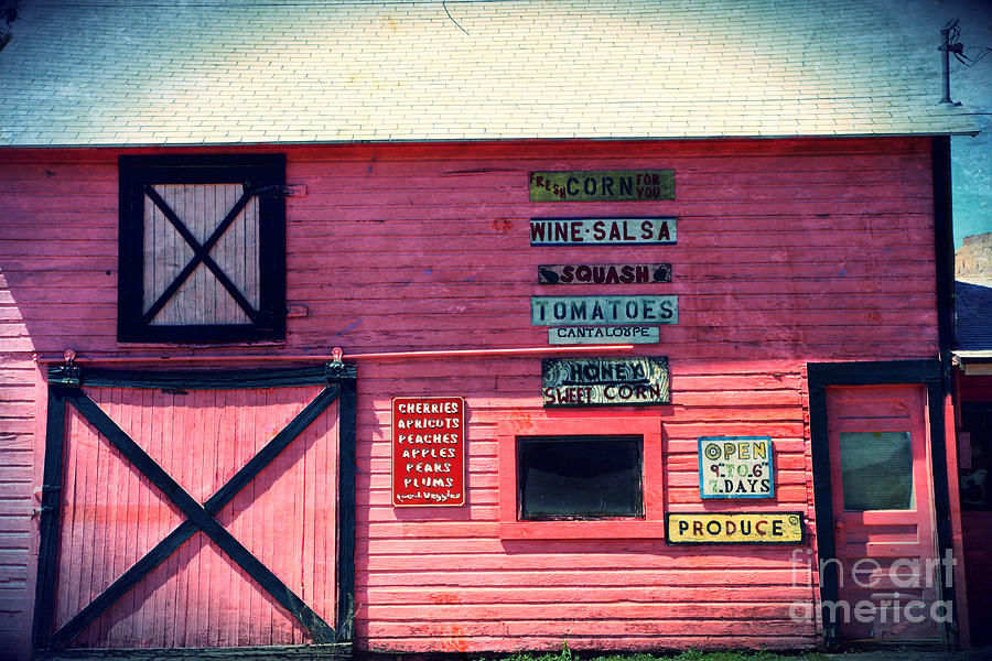 Grocery Photograph - The Grocery Store by Sophie Vigneault