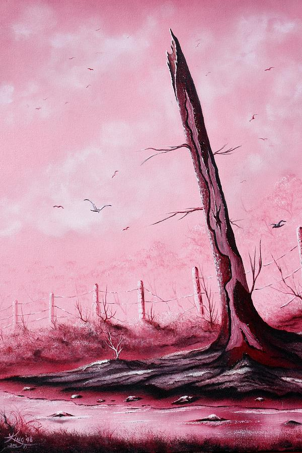 Landscape Painting - The Guardian by Russell  King