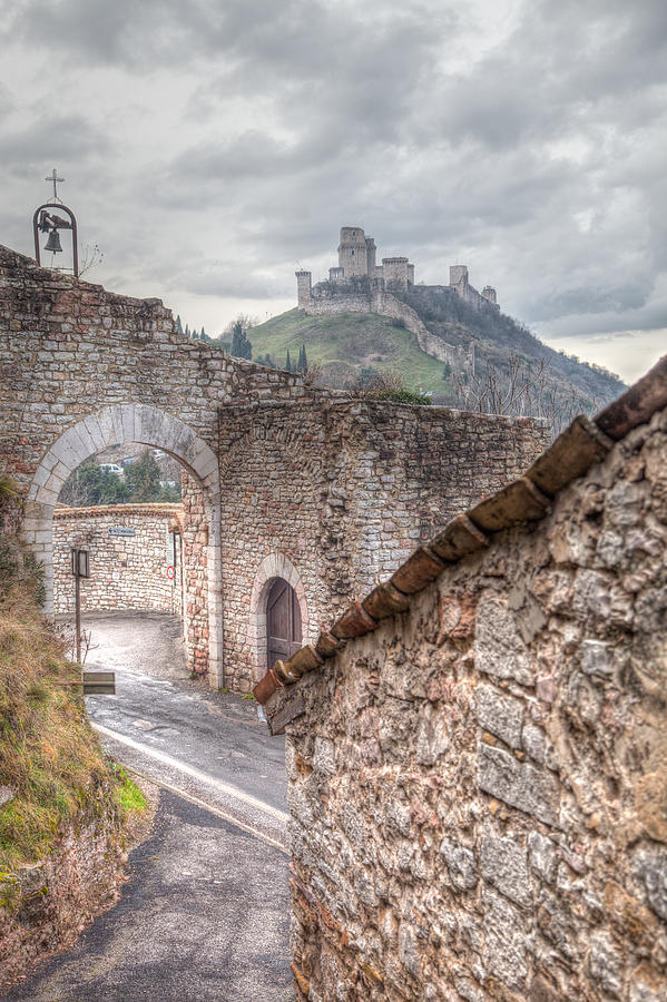 Assisi Photograph - The Guardian  by W Chris Fooshee