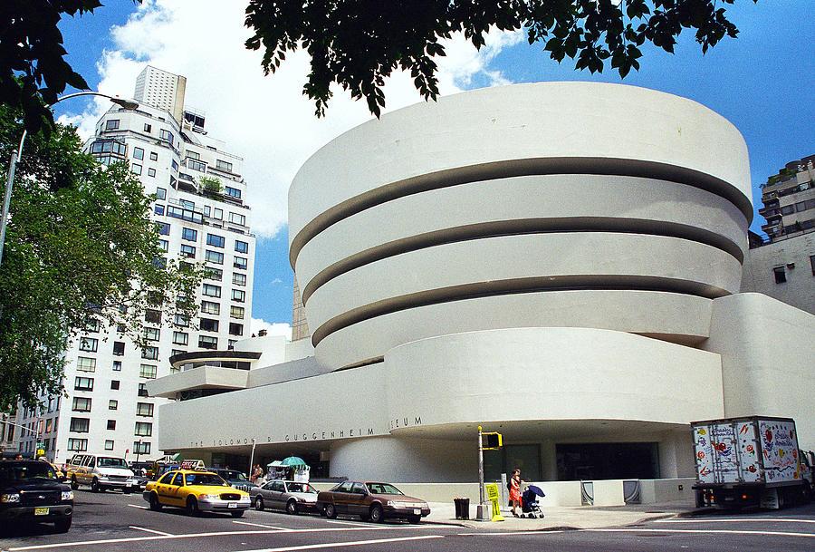 The Guggenheim Photograph - The Guggenheim by Allen Beatty