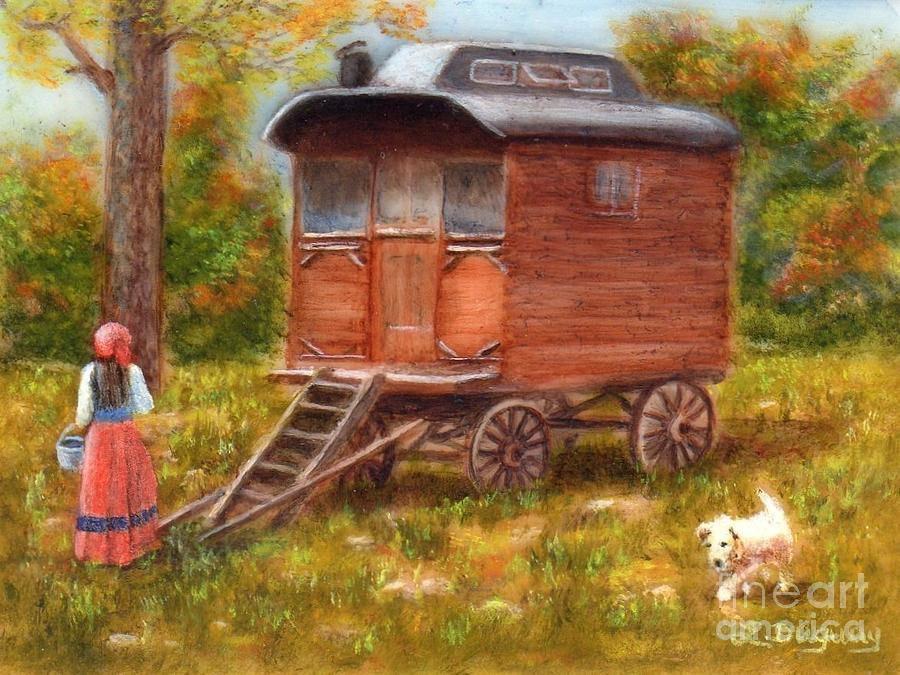 The Gypsy Caravan by Lora Duguay