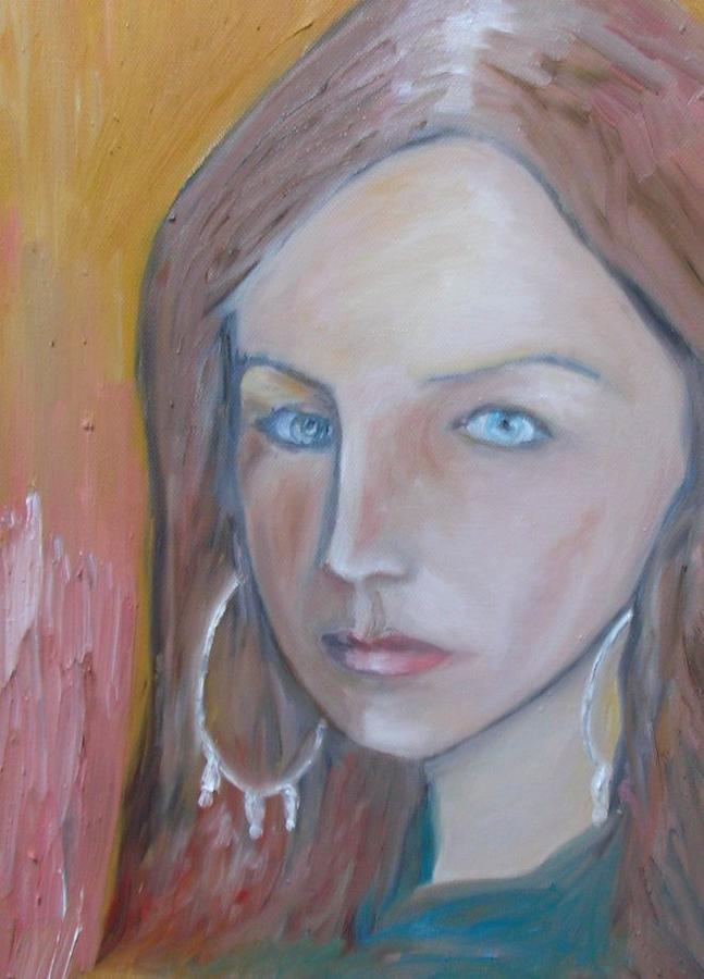 Portraiture Painting - The H. Study by Jasko Caus