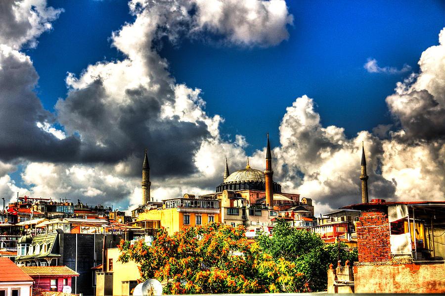 Hagia Sophia Digital Art - The Hagia Sophia by Mark Alexander