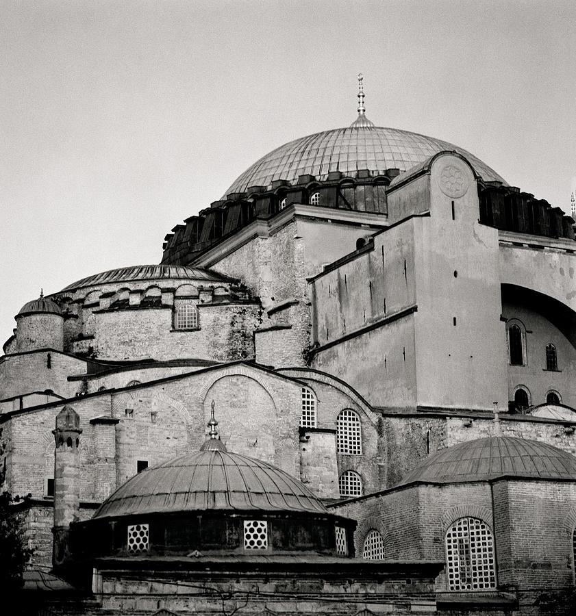 Hagia Sophia Photograph - The Hagia Sophia by Shaun Higson