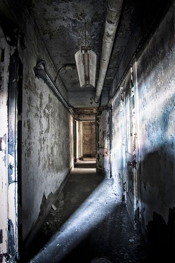 Abandon Photograph - The Hallway by Jessica Berlin