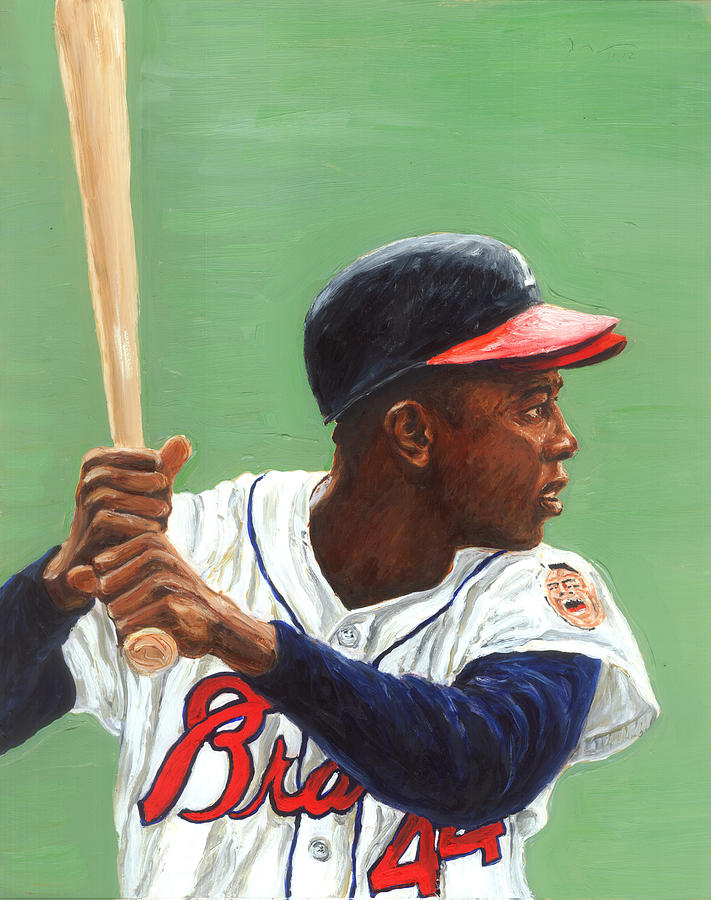 Hall Of Fame Painting - The Hammer by Rudy Browne