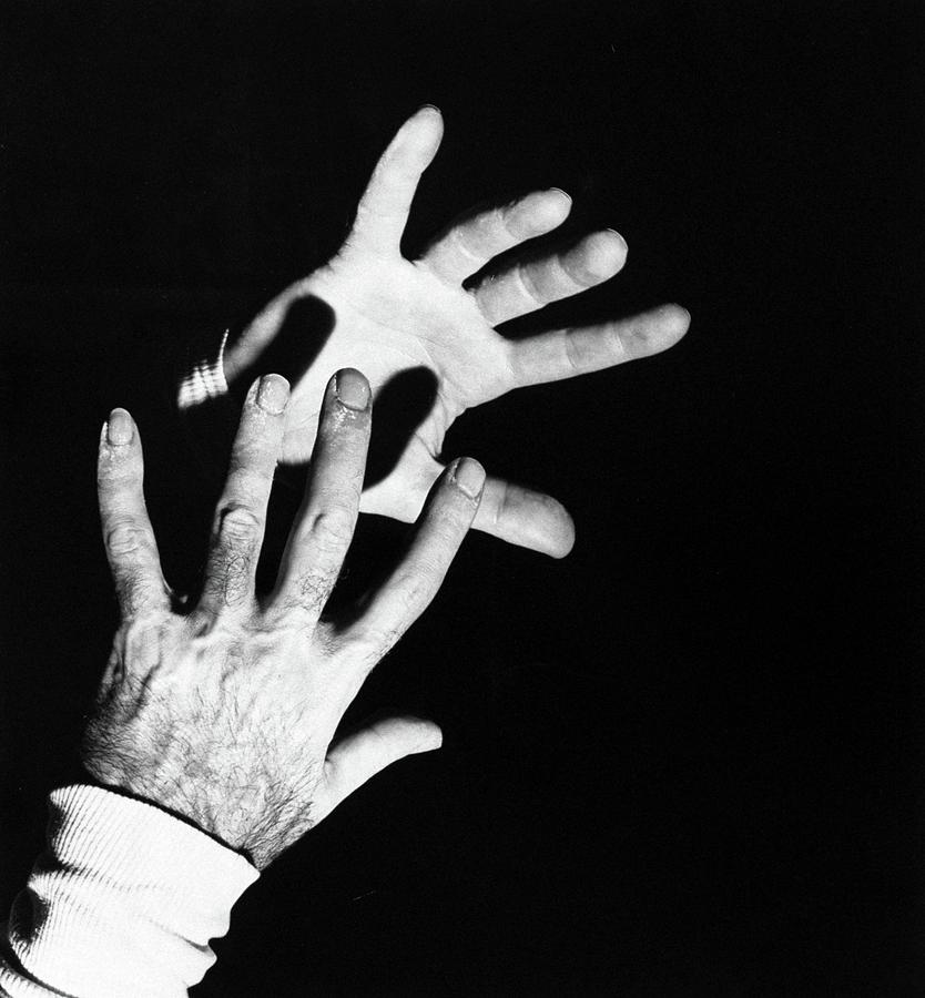 The Hands Of Dr. Michael Debakey Photograph by Horst P. Horst