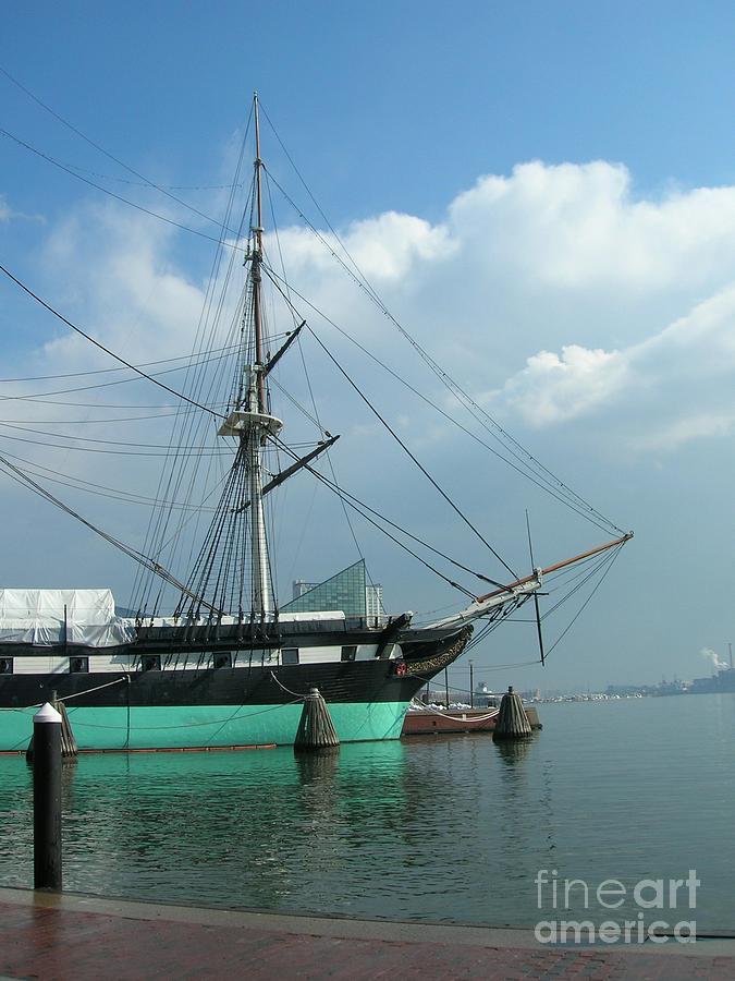 Nautical Photograph - The Harbor by Arlene Carmel