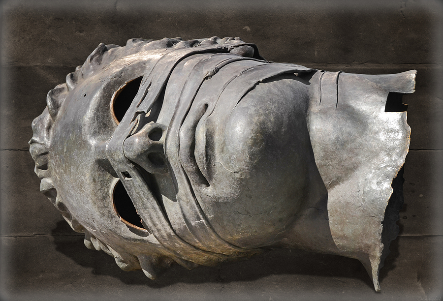 Eros Bendato Photograph - The Head Of Eros by Steven  Michael