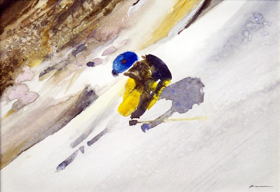 The Headwall Painting by Ed  Heaton