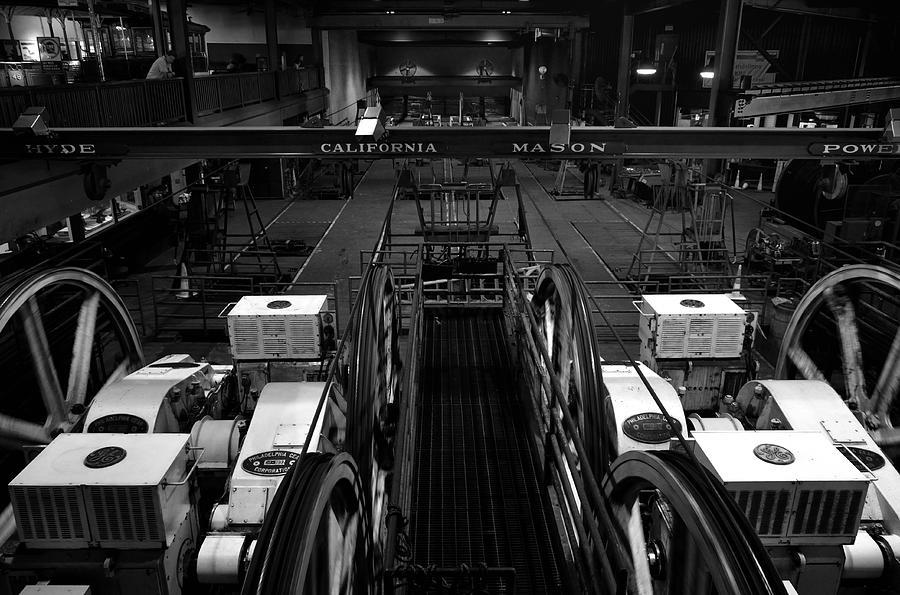 San Francisco Photograph - The Heart Of San Francisco Cable-car by RicardMN Photography