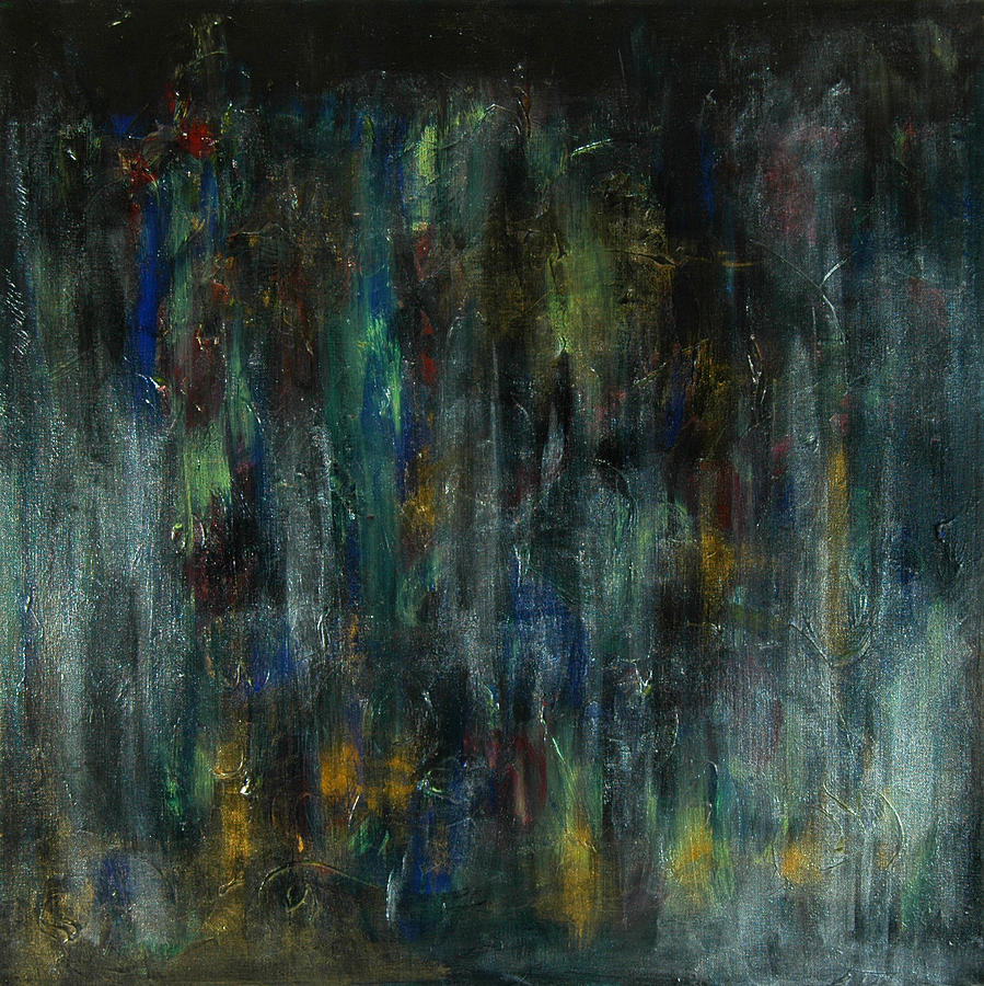 Abstract Painting - The Hearts Temple by Sue McElligott