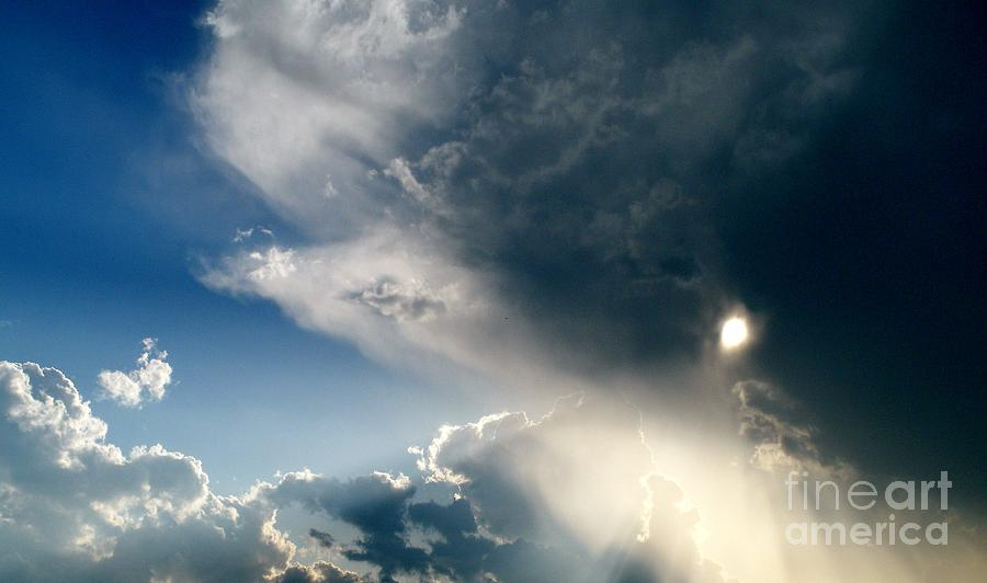 Clouds Photograph - The Heavens After The Rain by Julia  Walsh