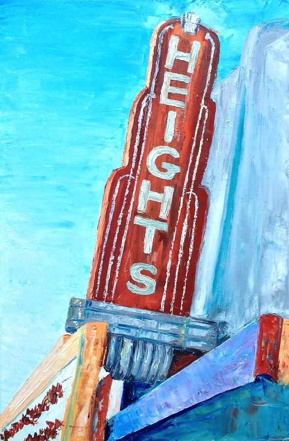 Houston Painting - The Heights by Lauren Luna